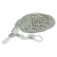 Luxe zilverkleurige ketting brillenkoord - grote schakel