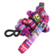 Hip & trendy roze-paars multicolor brillenkoord