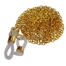 Luxe goudkleurige ketting brillenkoord - kleine schakel